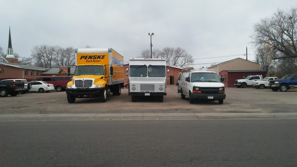 Three generations of Trucks